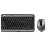 Клавиатура и мышь A4Tech 7300N Silver-Black USB