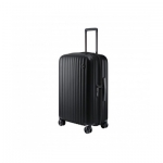 "Чемодан NINETYGO Elbe Luggage 20"" 6941413270458, Поликарбонат Makrolon, 38л, Замком TSA, Черный"