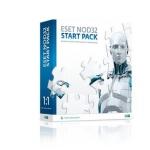 Антивирус ESET NOD32 START PACK- базовый комплект безопасности компьютера, лицензия на 1 год на 1ПК