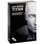 Антивирус ESET NOD32 TITAN - лицензия на 1 ПК (базовый продукт ESET NOD32 Smart Security - лицензия на 1 год на 3ПК)