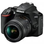 Фотоаппарат зеркальный NIKON D 3500 18-55 P VR KIT BK