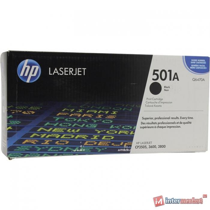 Оригинальный картридж HP Q6470A
