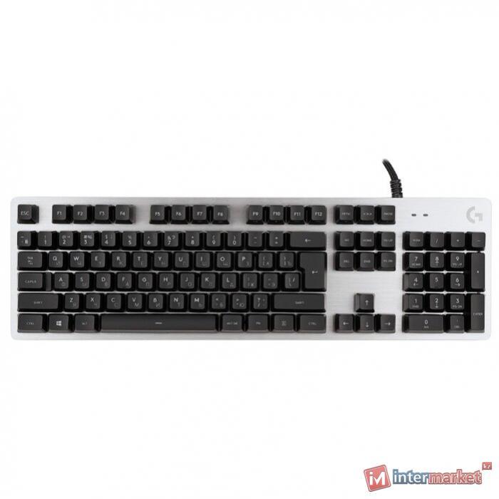 Клавиатура игровая Logitech G413 SILVER (механическая, белая подсветка)
