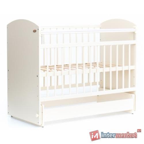 Кровать детская Bambini Элеганс М 01.10.08 Слоновая кость