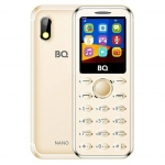Мобильный телефон BQ-1411 Nano Золотой /