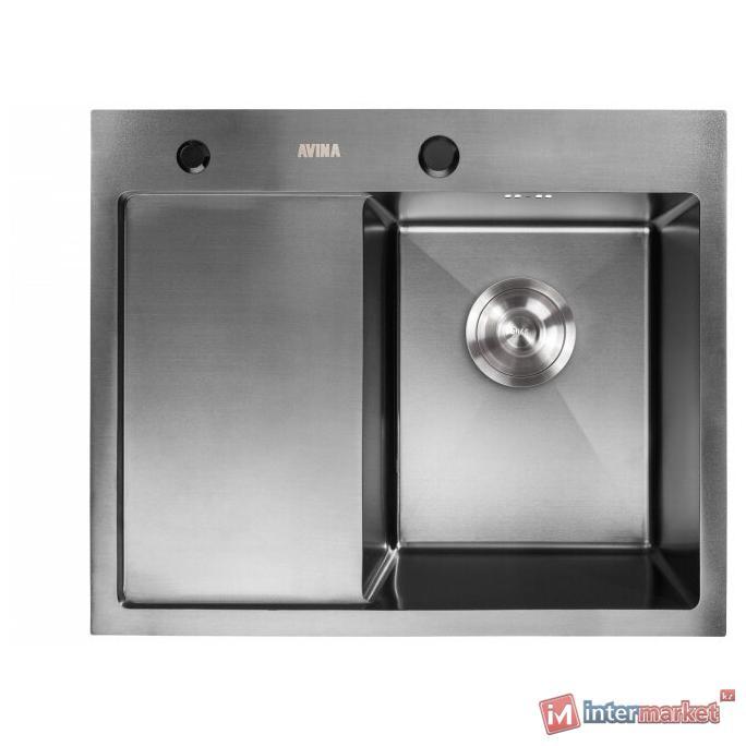 Кухонная мойка AVINA HM 5848 R black