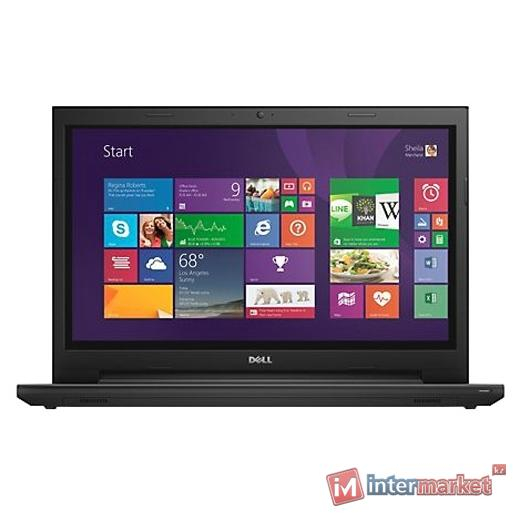 Ноутбук DELL INSPIRON 3542 (Pentium/3558U/1,7 GHz/2 Gb/500 Gb/DVD+/-RW/Graphics/HD 4000/256 Mb/15,6 ''/Windows 10/Home/64/SL/Black)
