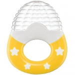 Прорезыватель силиконовый Happy Baby Silicone Teether 20024 Yellow