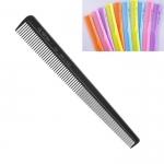 """Расчёска """"ES-422"""", комбинированная скошенная для височных и затылочных зон, нейлон.(цветные)"""